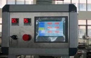 Панель управления линией упаковки погонажа FPW350 с сенсорным экраном