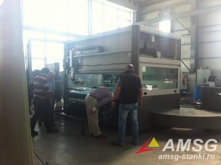 Покрасочный станок проходного типа ACM-1300 (Турция)